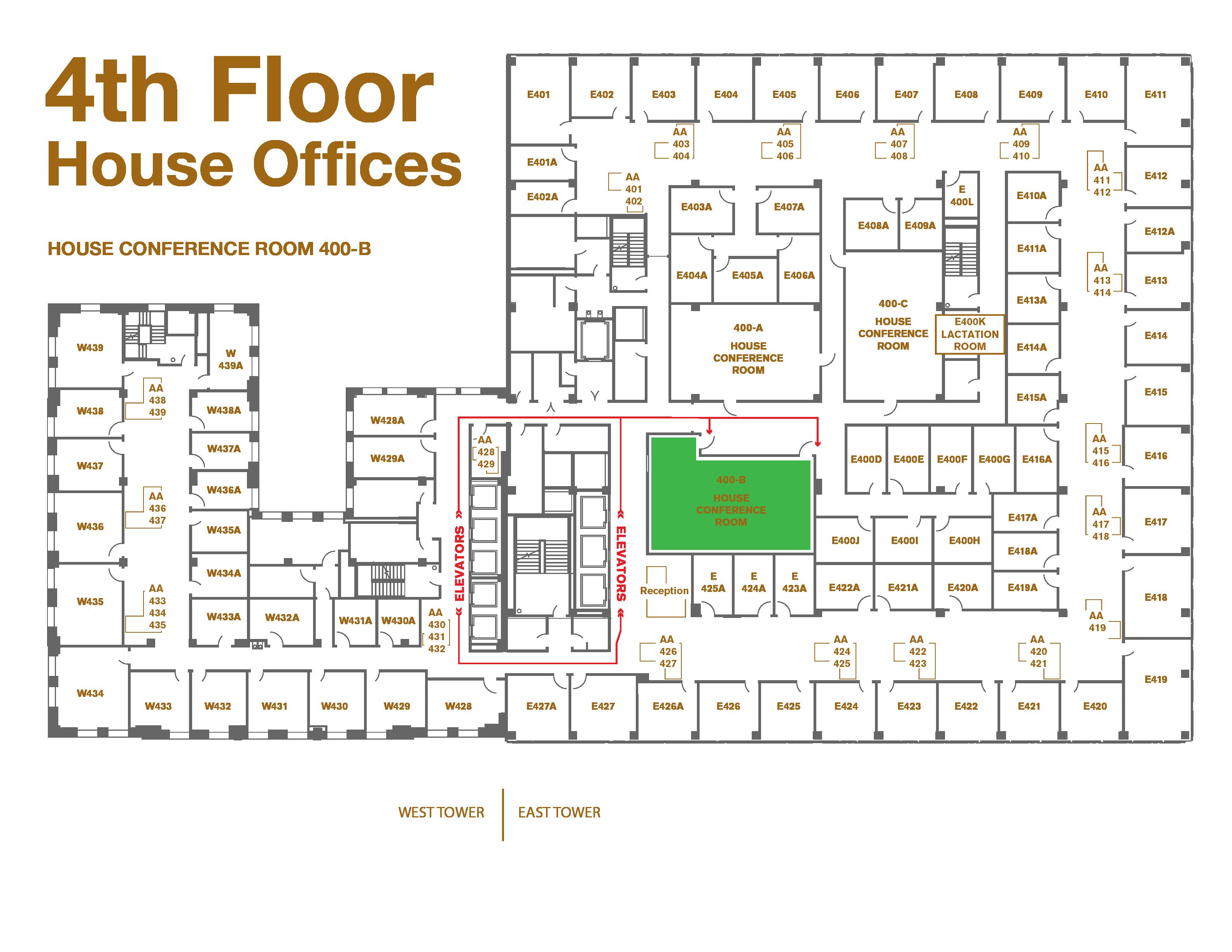 400-B Subcommittee Room, Pocahontas Building
